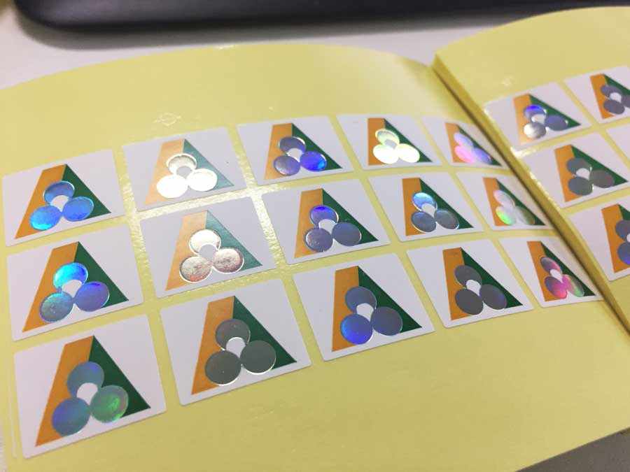 Foil Stickers | Hot Foil Stamping Stickers - Sticker Prints